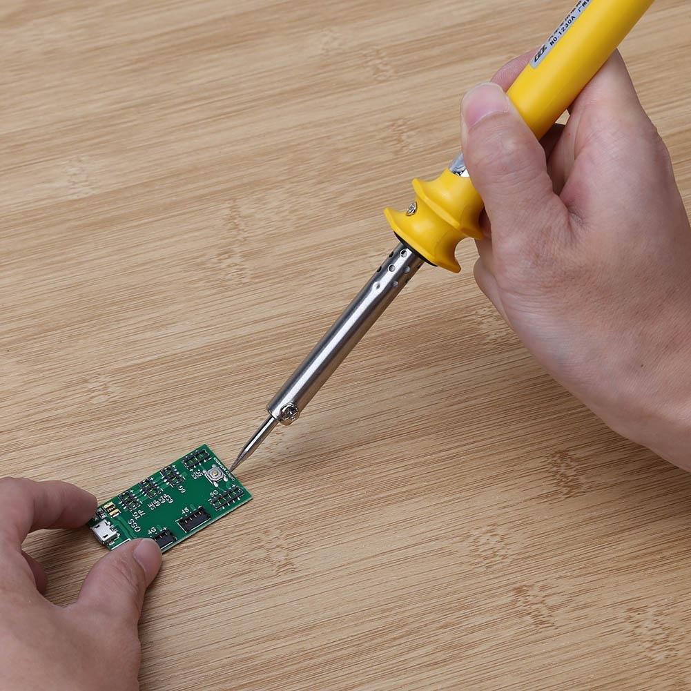 Starnearby DC 12 V 30 W soldador eléctrico hierro encendedor coche Auto soldadura reparación: Amazon.es: Bricolaje y herramientas