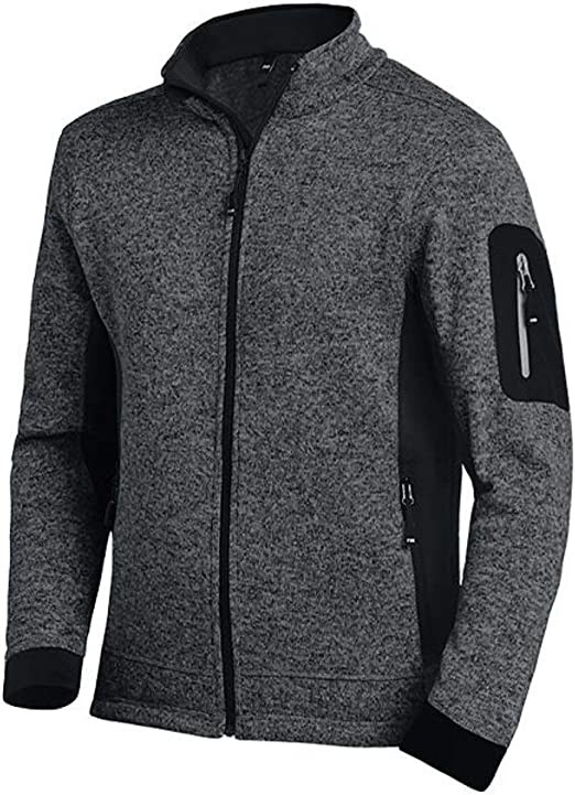 strick fleece herren jacke s