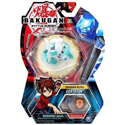 Bakugan Ultra, Gorthion, 3-inch Tall Collectible Transforming Creature, for Ages 6 and Up: Toys & Games