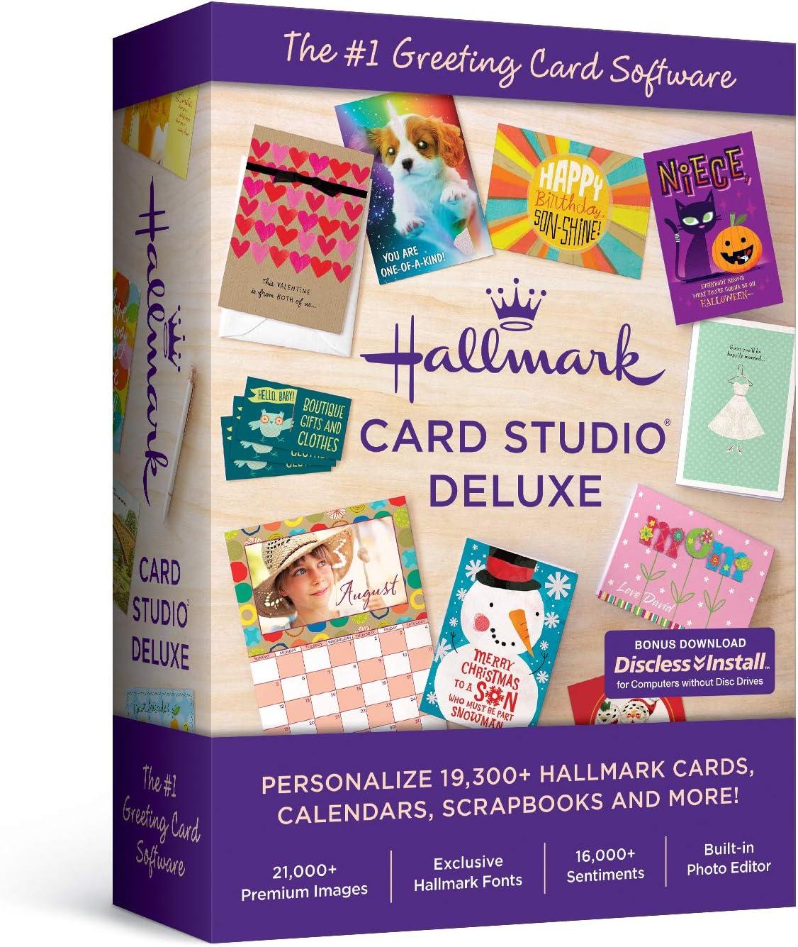 Hallmark Card Studio Deluxe-- New Version