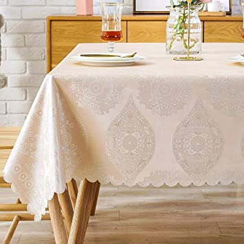 Wipe Clean PVC Tablecloth Oilcloth Vinyl 137cm Wide Heart Floral with Spoon//Knif
