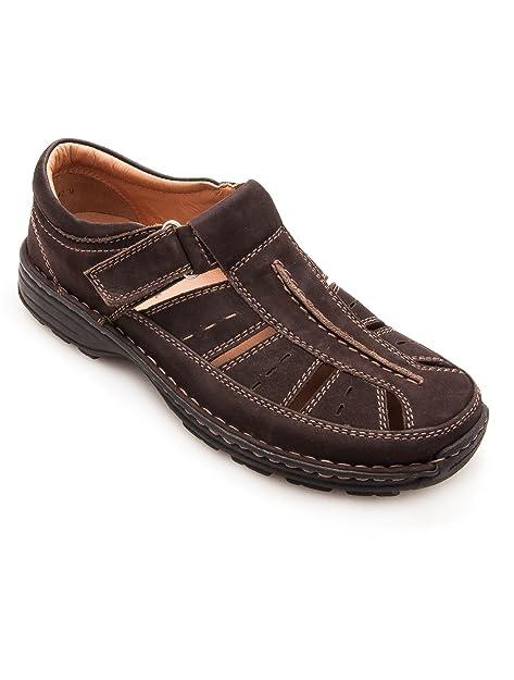 Jomos - Zapatos de cordones de Piel para hombre marrón marrón, color marrón, talla 48