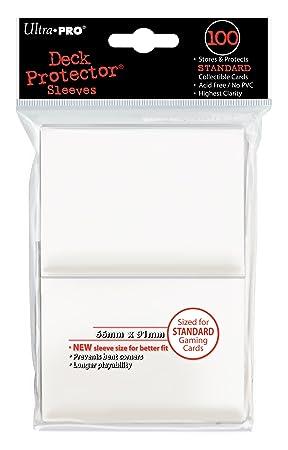 Ultra Pro- Fundas para Cartas Blancas (E-82690)