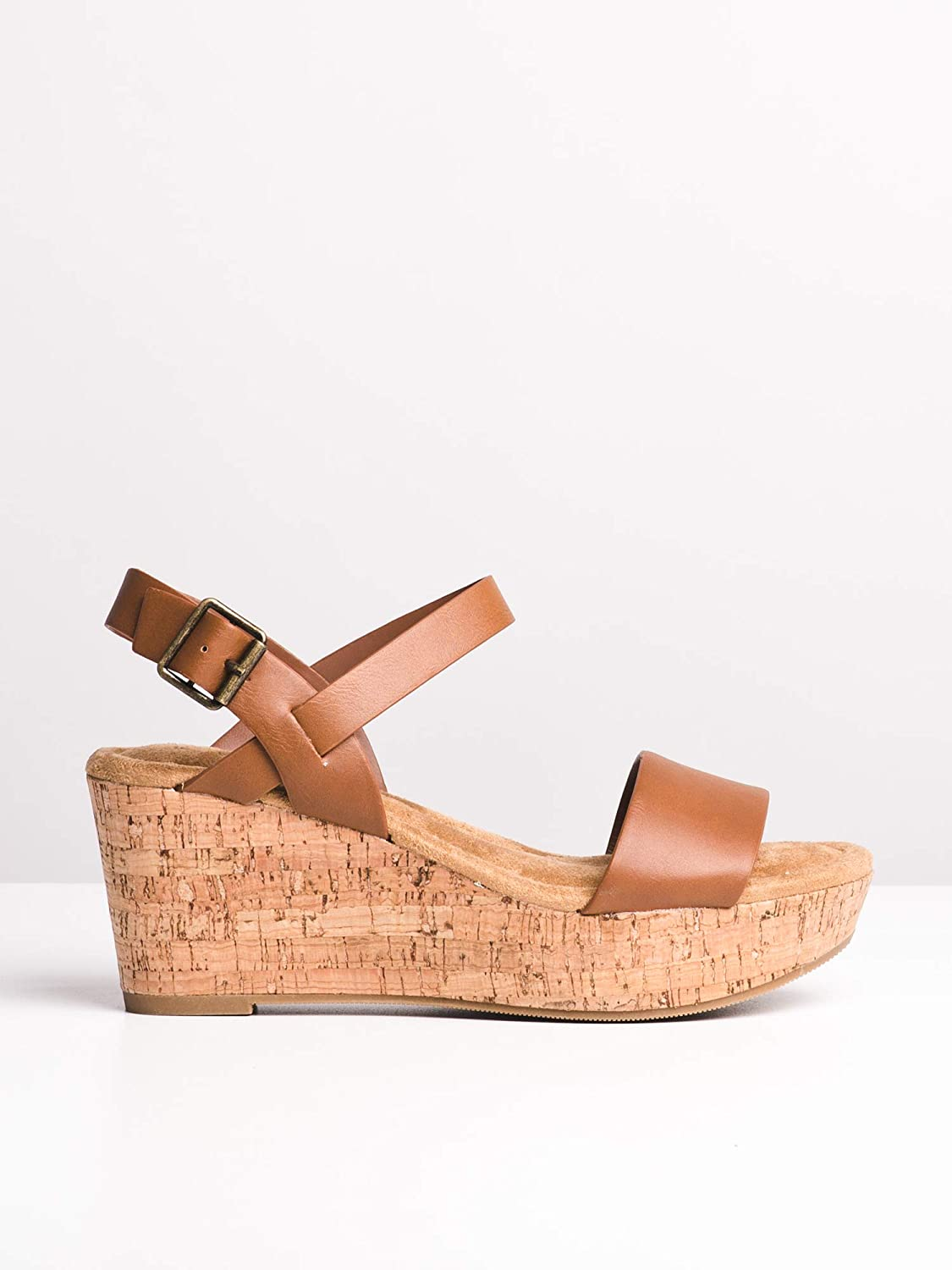 DLG Womens Air Casual Wedge Sandals with Cork
