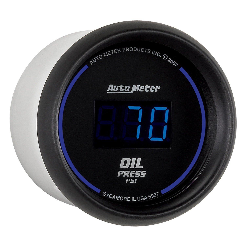 Auto Meter 6927 Cobalt Digital 2-1/16'' 0-100 PSI Oil Pressure Gauge by AUTO METER
