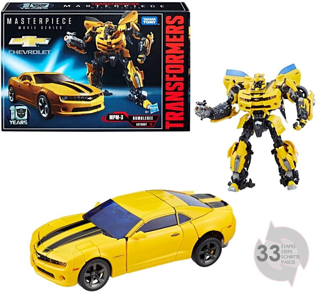 Transformers 5 - Masterpiece Bumblebee (Hasbro C0892EU4): Amazon ...