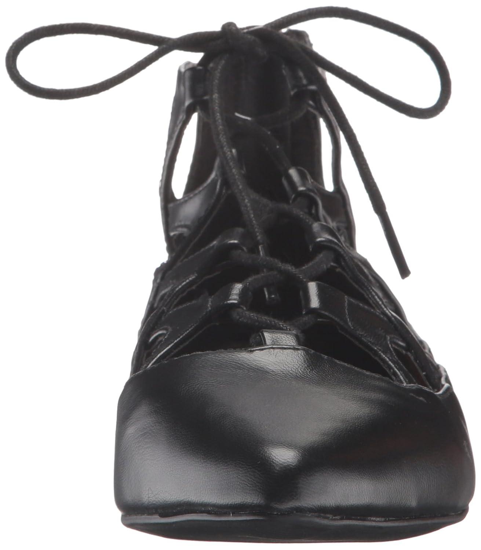 MIA Women's Anamarie Pointed Toe Flat B01G4TXYEY 6 B(M) US|Black 3