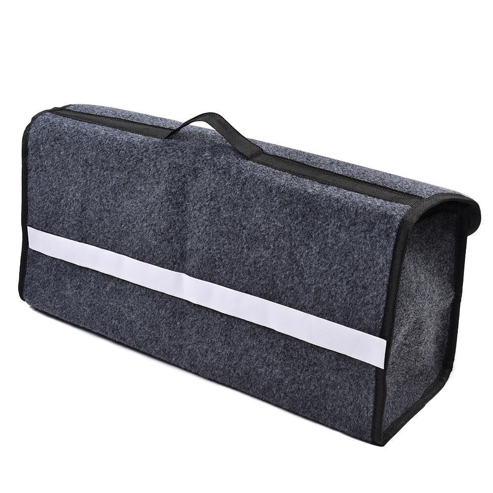 Einkaufen im Freien Camping Klappbox Kofferraumbox Faltbox Organizer Autobox Tasche mit Deckel Langlebig Faltende Aufbewahrungstasche Tool Kit Auto-Aufbewahrungsbox mit Trennwand f/ür den Haushalt