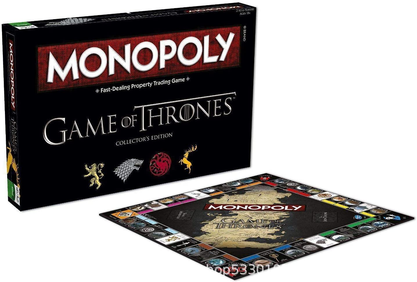 AOTE-D Monopoly Game of Thrones: Amazon.es: Deportes y aire libre