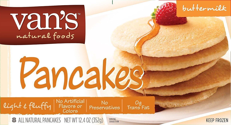Van's Light & Fluffy Buttermilk Pancakes, 12.4 Ounce (Pack of 12)