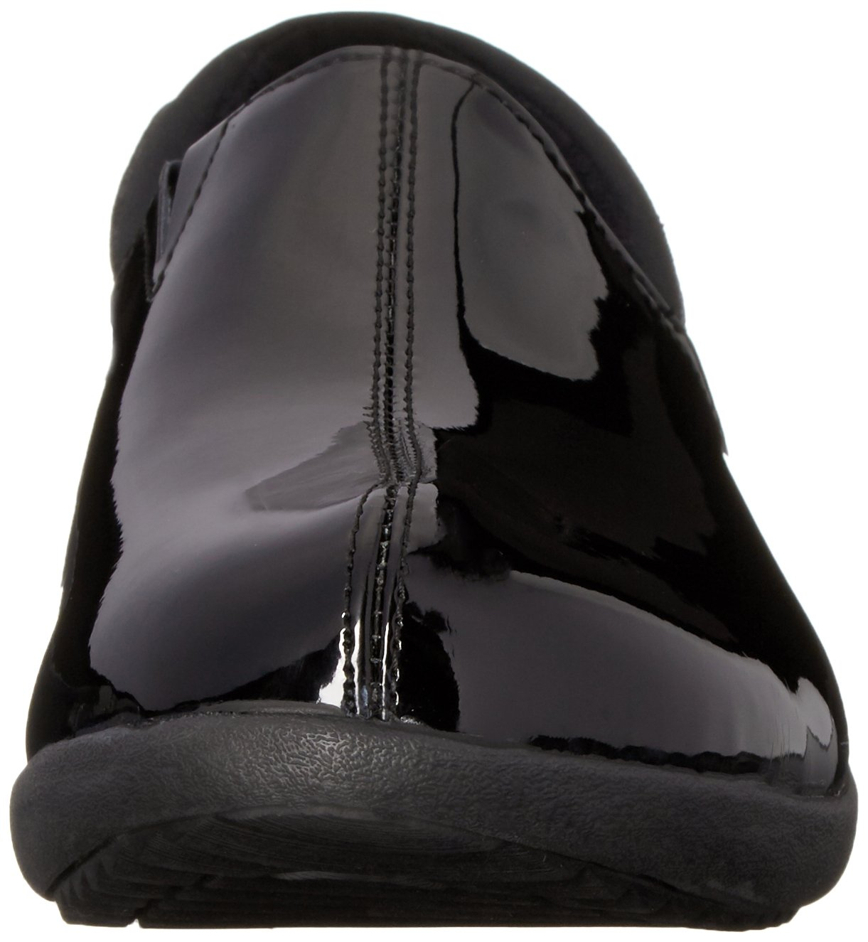 Skechers Women's Savor singular Mule, Black Patent Leather, 6 M US by Skechers (Image #4)