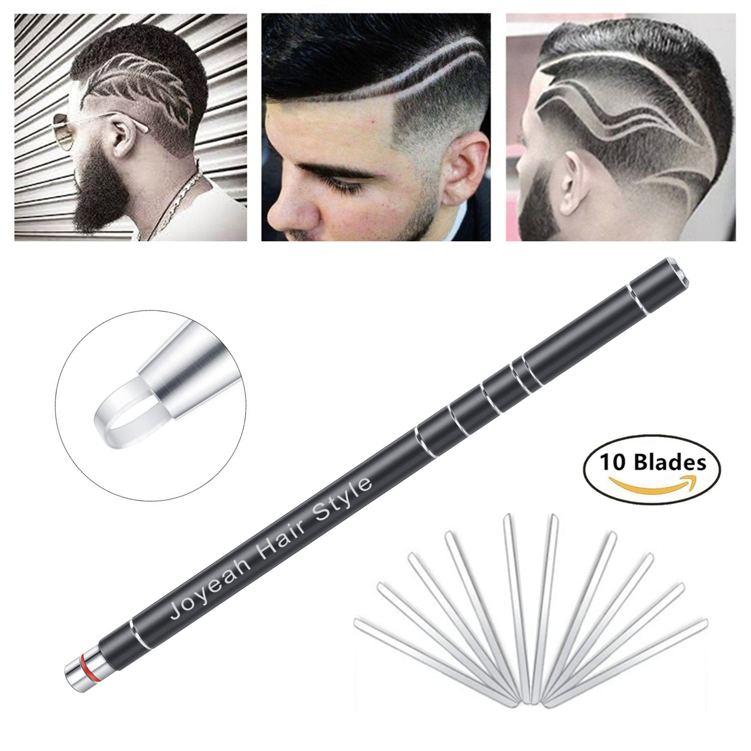 Graff etch hair pattern pencils 8 piece set for Razor pen for hair tattoo