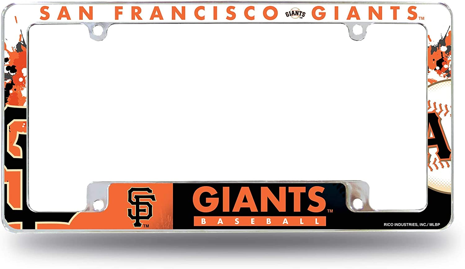 Sf All Over Chrome Frame One Size Multicolor Rico Industries Giants