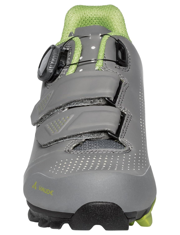 VAUDE MTB Snar Advanced, Zapatillas de Ciclismo de Carretera Unisex Adulto 45 EU|Gris (Anthracite 069)