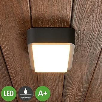 Lámpara LED de techo exterior