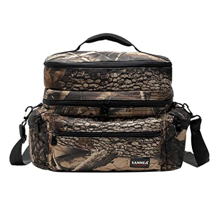 6add9e1a1e Amazon.com - Insulated Picnic Bag Thick Tote Cooler Lunch Bag with ...