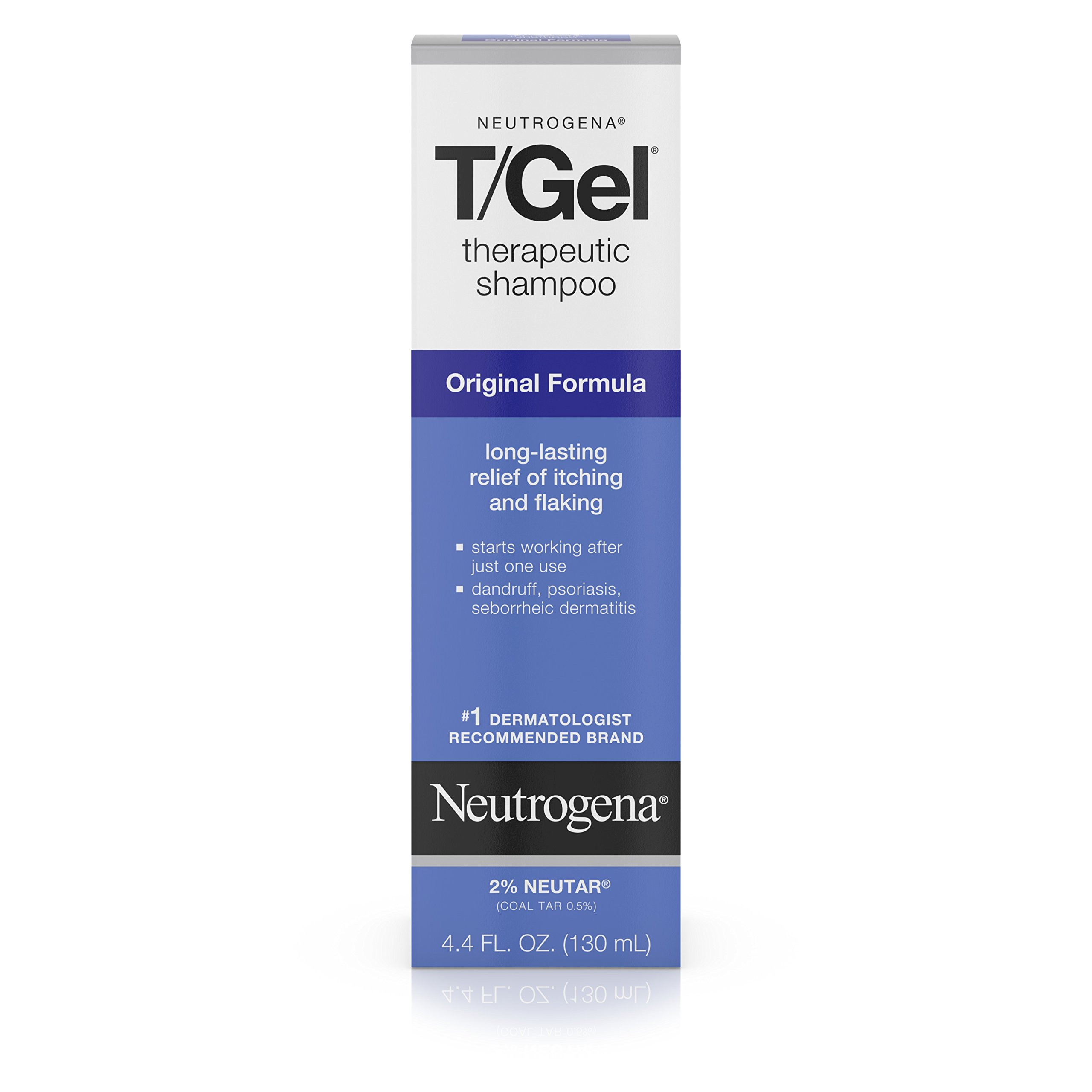 Neutrogena T/Gel Therapeutic Shampoo Original Formula, Dandruff Treatment, 4.4 Fl. Oz.