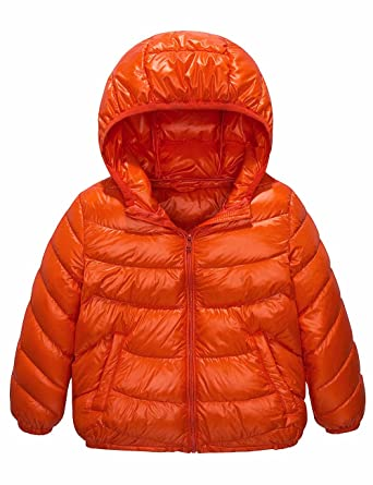4410e186280d Amazon.com  Spring Gege Boys  Quilted Packable Hoodie Lightweight ...