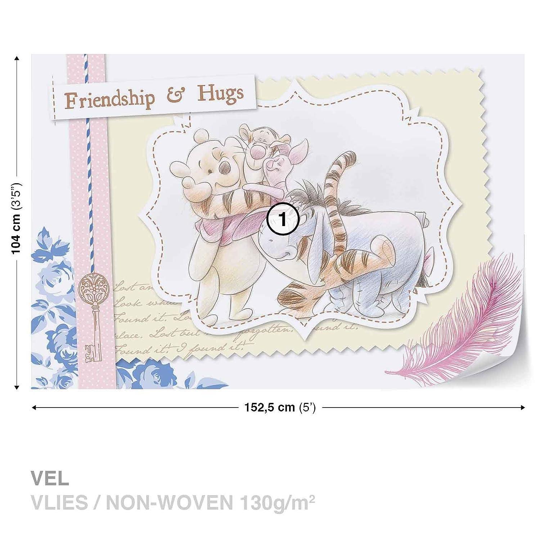 KINDER Vlies Fototapeten Fototapete Wandbild Tapeten DISNEY WINNIE POOH 1490 VE Consalnet