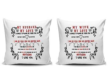 Amazon.com: Juego de fundas de almohada decorativas para el ...