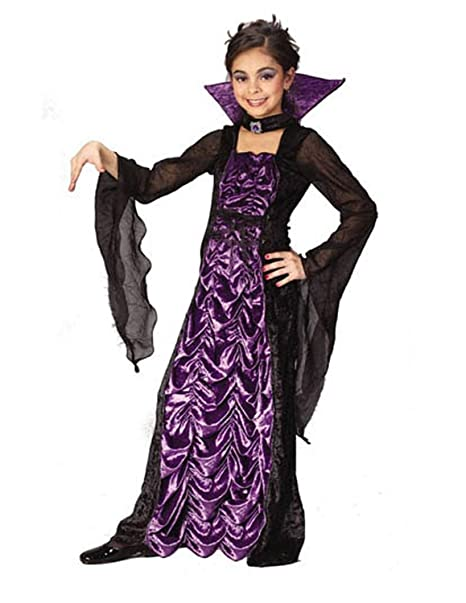 Halloween Vampire Costume Kids.Amazon Com In Fashion Kids Countess Of Darkness Costume Girls