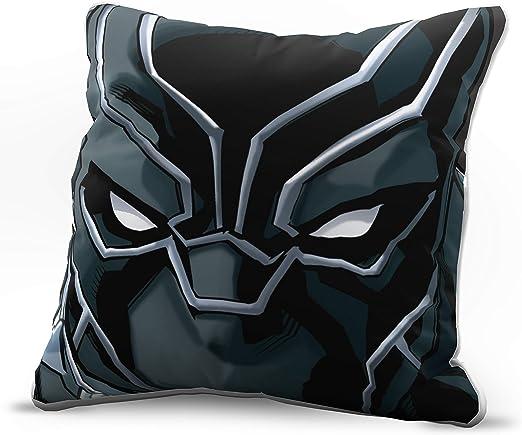 Grey Batman Comic Cushion Cover Superhero Mask Kids Bedroom 14 16 18 20 22 inch