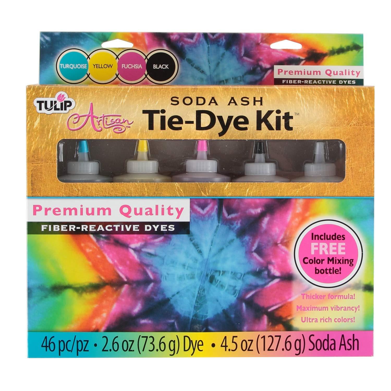 Tulip Artisan Soda Ash Tie-Dye Kit with Color Mixing Bottle (33545)
