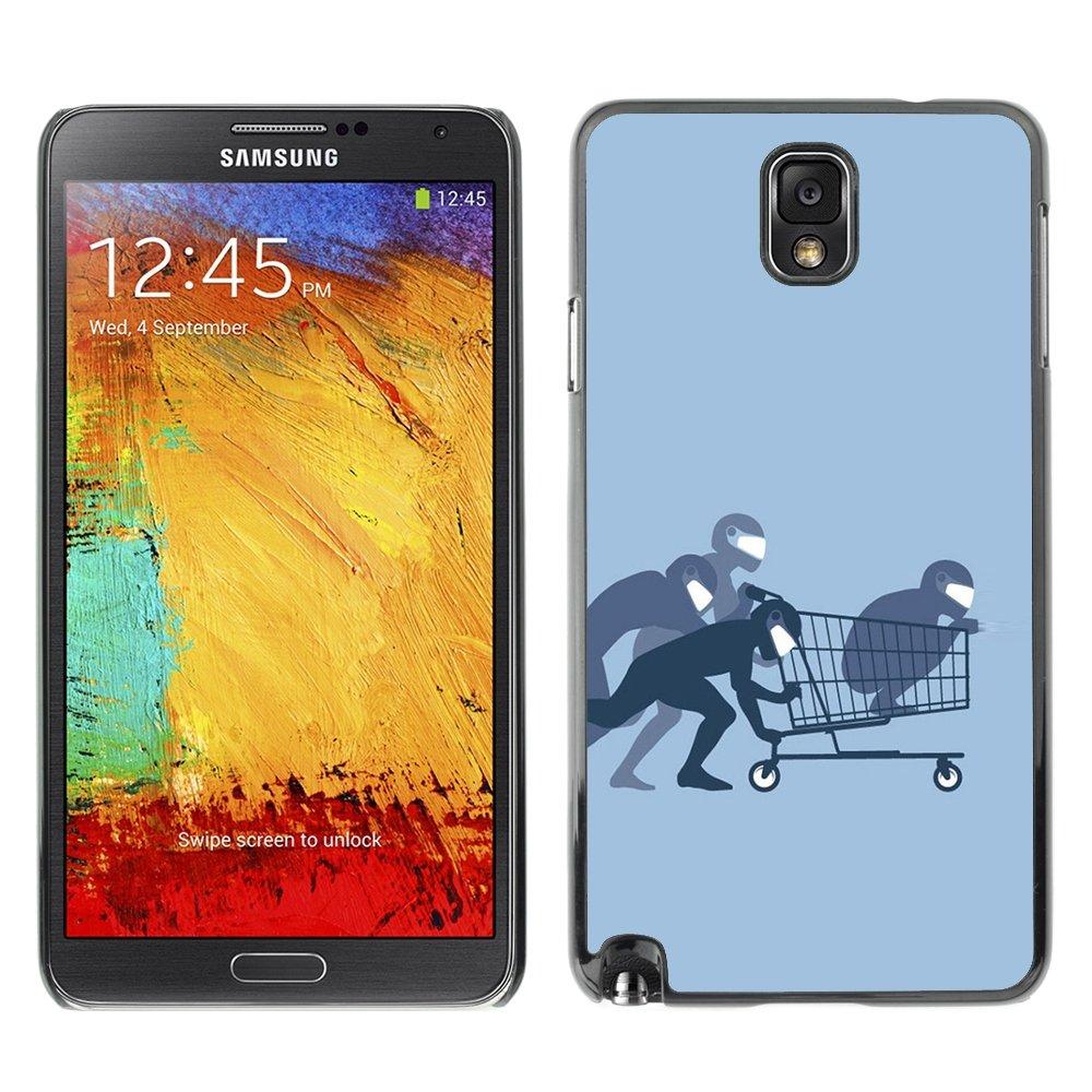 For Samsung Note 3 N9000 - Funny Ninja Shopping /Caja ...