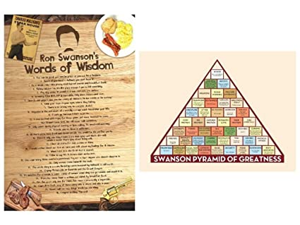 image about Ron Swanson Pyramid of Greatness Printable Version named mCasting Parks and Video game Poster - Ron Swanson Pyramid of Greatness Poster- Interesting Television set Props Ron Swanson Poster (Package, 1)