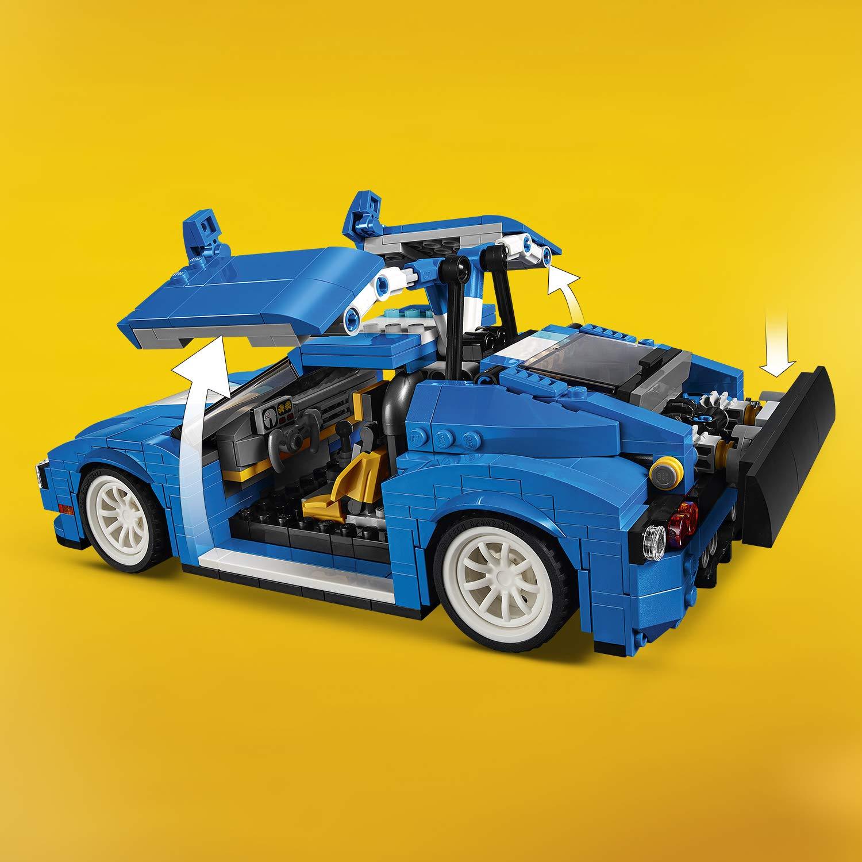 31070 Jeu Construction De Lego Le Bolide Creator Bleu 54RjAL