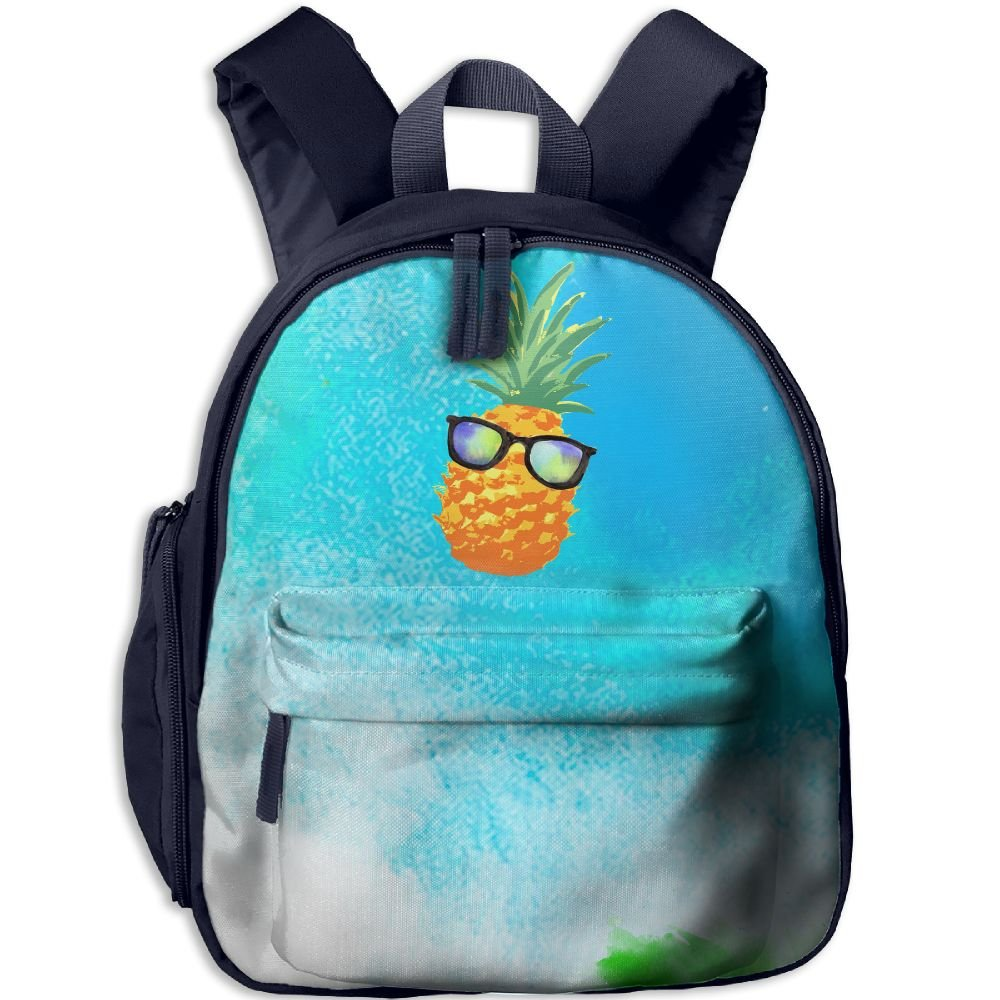 Pineapple With Sunglasses 3D Print Girl Fashion Book Bags by Hfqf Bags