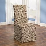 Amazon Com Stretch Pique Wingback Chair Slipcover Color