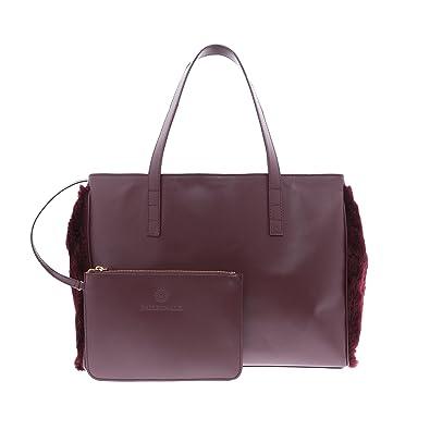 Shopping Piel de Bag Kokomorocco Mujer Bolso Color Vacuno de PEfqfX4Tw