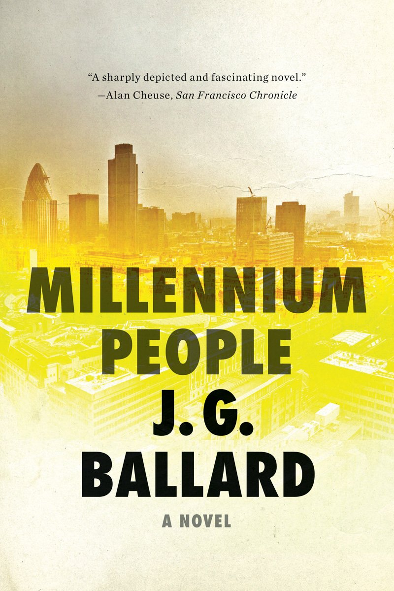 Millennium People: A Novel: J G Ballard: 9780871404053: Amazon: Books