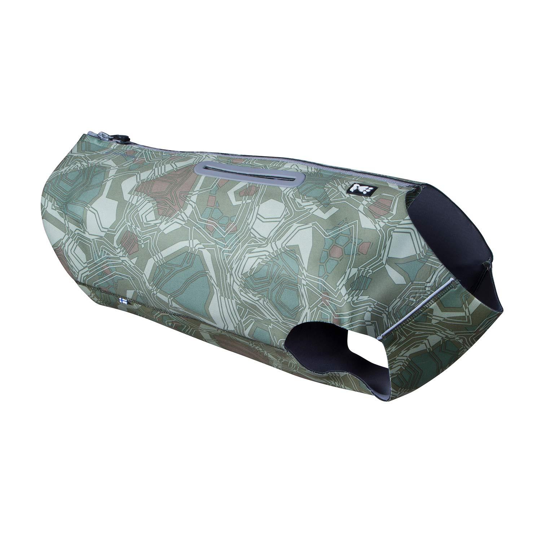 Hurtta Swimmer Vest, Hunting/Sportsman Dog Vest, Green Camo, S by Hurtta