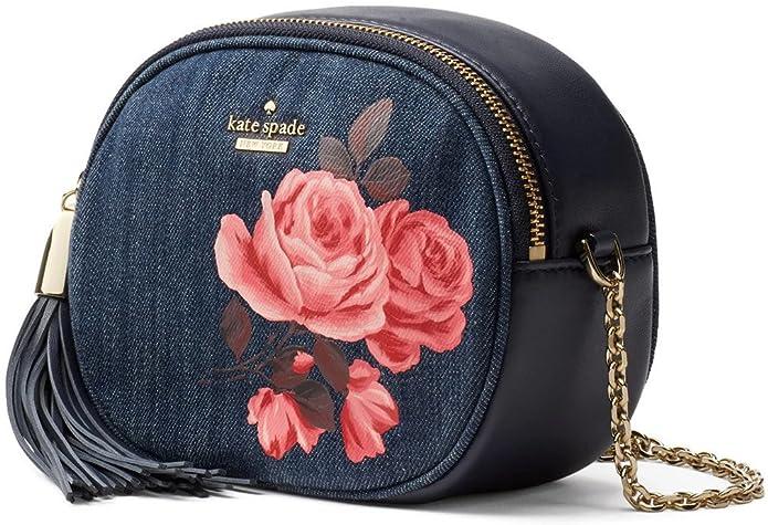 eda8af3702 Kate Spade New York Emerson Place Dark Denim Tinley Tassel Crossbody Bag   Amazon.ca  Shoes   Handbags