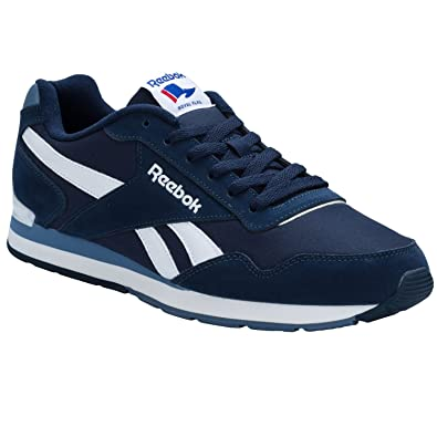 Reebok Mens Mens Royal Glide Clip Trainers in Navy - UK 7.5  Amazon ... 1f9e61054