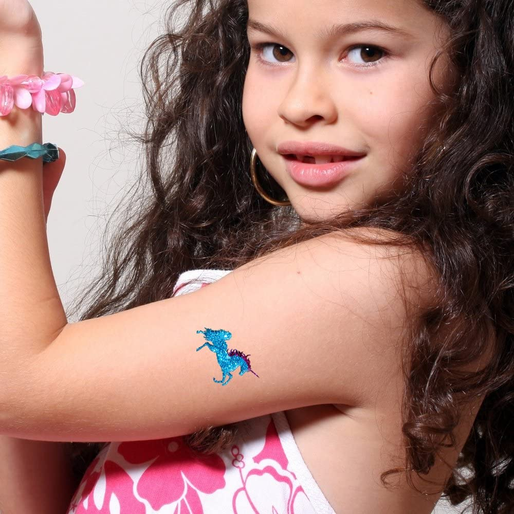 Kit de Tatuajes de Purpurina Cuento de Hadas con 6 purpurinas ...