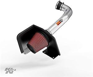 K&N Cold Air Intake Kit: High Performance, Guaranteed to Increase Horsepower: 2009-2014 Chevy/GMC/Cadillac (Silverado 1500, Suburban, Tahoe, Avalanche, Sierra 1500, Yukon, Escalade) V8, 77-3070KP