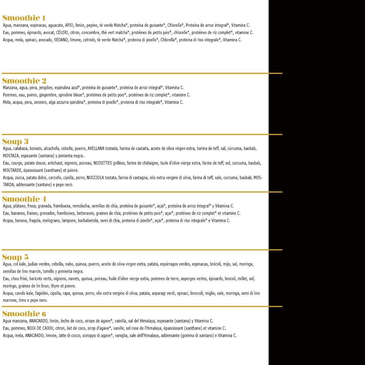 Zumos Detox 3 días - Licuados 100% frescos la auténtica terapia detox: Amazon.es: Salud y cuidado personal