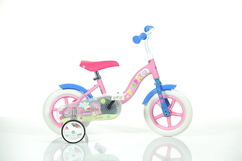 Dino Bikes 108L SIP Niños Metal Azul, Rojo, Amarillo bicicletta ...