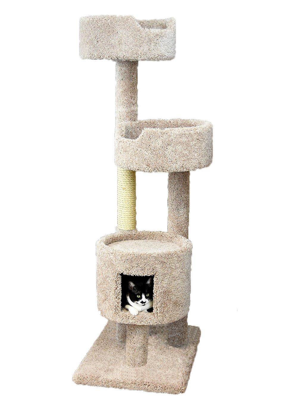 New Cat Condos Beige Cat Penthouse, Large