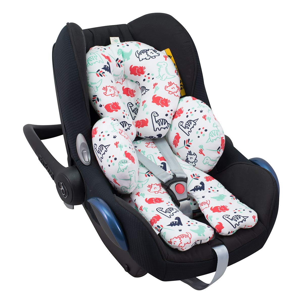 Reducer Cushion Infant Head /& Baby Body Support Antiallergic Janabebe Dark Sky
