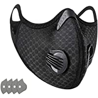 50pcs Disposable Face Másk With 3 Layer Filter With Elastic Earloop,black Gray Breathable Safety Face Scarfs Black 50…