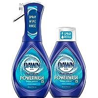 Dawn Platinum Powerwash - Spray para platos, Kit de iniciación + 1 recambio.