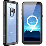 SPIDERCASE Samsung Galaxy S9 Waterproof Case, Full Body with Built-in Screen Protector, Rugged Resistant Protective Case, ONLY for Samsung Galaxy S9 5.8 inch, NOT for Galaxy S9 Plus 6.2 inch