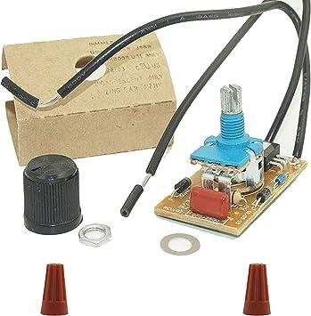 Full Range Rotary Dimmer Switch for Lamp LED /& Incandescent 120 V 300 W