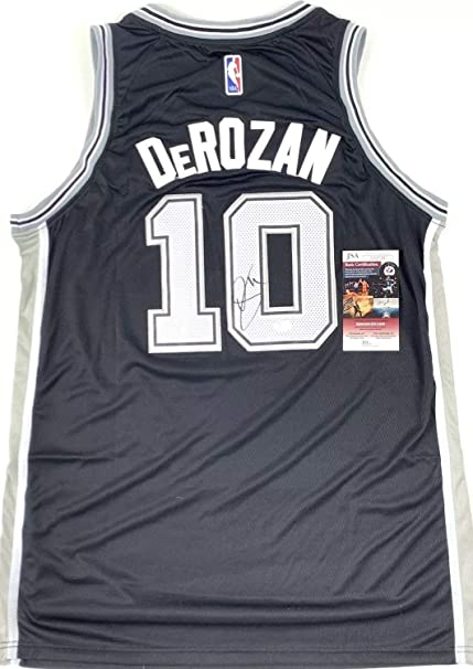 sports shoes 0d2ff c0ee3 Demar Derozan Autographed Signed Jersey San Antonio Spurs ...
