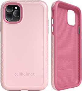 "cellhelmet Fortitude Series Pink Magnolia Dual Layer Phone Case for Apple iPhone 11 Pro Max (6.5"") 
