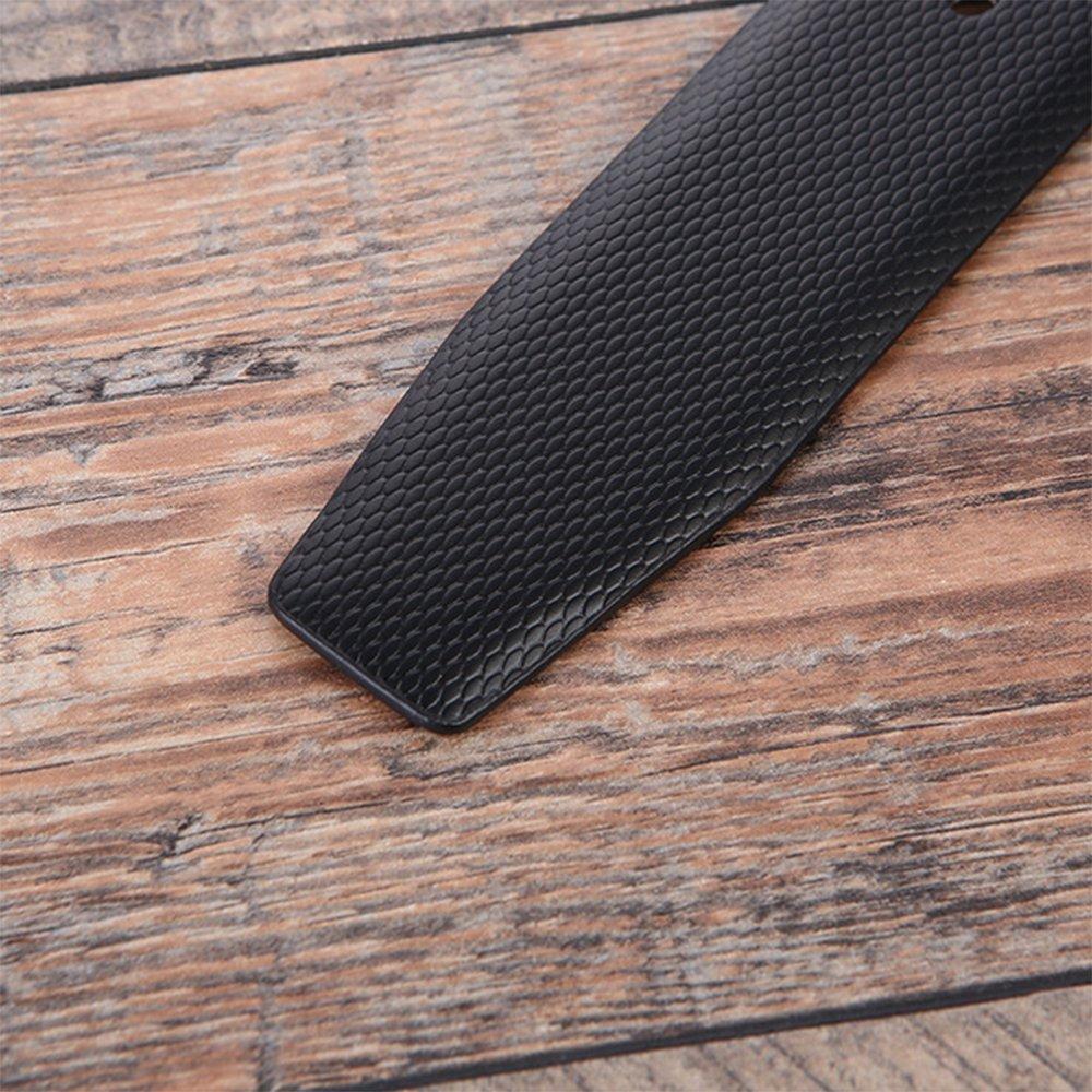 Nclon Genuine Leather Belt Mens Belt Pin Buckle Casual Style Brown Black Belt